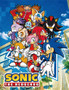 Sonic the Hedgehog: Big Group Sublimation Throw Blanke