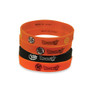 Dragon Ball Super Logo Multi-Pack PVC Wristband - Set of 4