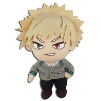 My Hero Academia: Katsuki Bakugo School Uniform Plush