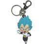 Dragon Ball Super: Super Saiyan Blue Vegeta PVC Keychain