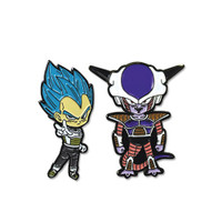 Dragon Ball Super SSGSS Blue Vegeta & Frieza Pins Set of 2