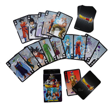 Dragon Ball Super Resurrection F Characters Playing Cards