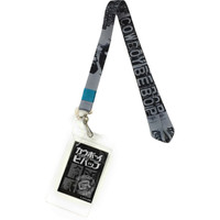 Cowboy Bebop Spike Gray/Black Lanyard with ID Badge Holder