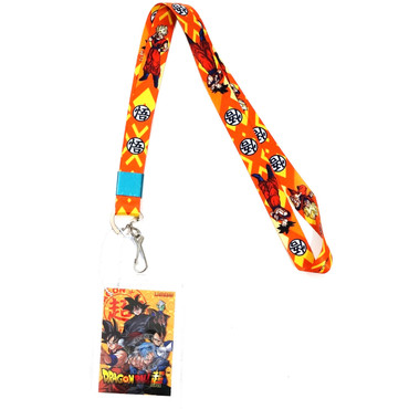 Dragon Ball Super Goku Lanyard with ID Badge Holder