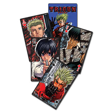Trigun Anime Playing Cards