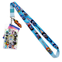 Sailor Moon S: Sailor Soldiers Line-Up Lanyard w/ ID Holder & Charm
