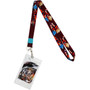 Dragon Ball FighterZ: SS & SSGSS Goku Lanyard with ID Badge Holder
