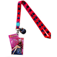 Sailor Moon R: Luna P Lanyard with ID Badge Holder & Charm