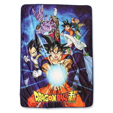 Dragon Ball Super: Goku Group Sublimation Throw Blanket