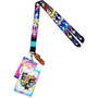 Sailor Moon S: Sailor Soldiers Portraits Lanyard w/ ID Holder & Charm