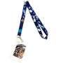 Dragon Ball FighterZ: SS & SSGSS Vegeta Lanyard with ID Badge Holder