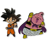 Dragon Ball Super Goku & Majin Buu Pins Set of 2