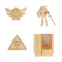 Nintendo The Legend of Zelda Lapel Pin Set of 4
