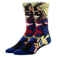 My Hero Academia: All Might Character Socks - One Pair