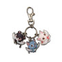 Fairy Tail: SD Happy, Carla & Pantherlily Wings Metal Keychain