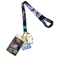 Gintama: Gintoki Lanyard with ID Badge Holder & PVC Elizabeth Charm