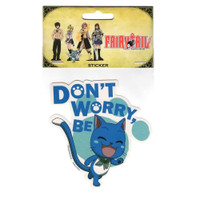 Fairy Tail: Don't Worry Be Happy Sticker