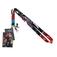 Persona 5 Protagonist & Arsene Lanyard with ID Badge Holder & Charms