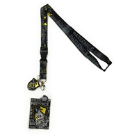 Harry Potter Hufflepuff Traits Lanyard with ID Badge Holder & Metal Charm