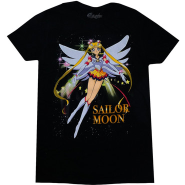 Sailor Moon: Eternal Sailor Moon Men's Black T-Shirt