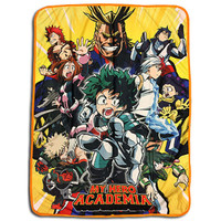 My Hero Academia: Heroes Big Group Sublimation Throw Blanket