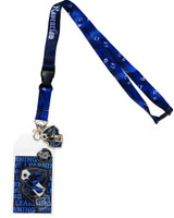 Harry Potter Ravenclaw Traits Lanyard with ID Badge Holder & Metal Charm