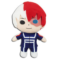 My Hero Academia: Shoto Todoroki Training Uniform Plush