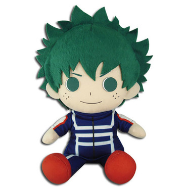 My Hero Academia: Izuku Midoriya Deku Training Uniform Sitting Plush