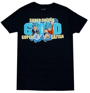 Dragon Ball Super: SSGSS Goku & Vegeta Men's T-Shirt