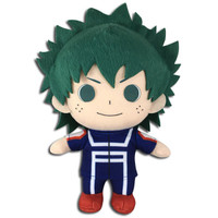 "My Hero Academia: Izuku Midoriya Deku Training Uniform 7"" Plush"