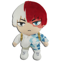 My Hero Academia: Shoto Todoroki Ice Hero Suit Costume Plush