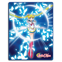 Sailor Moon Super S: Sailor Moon Attack Sublimation Throw Blanket