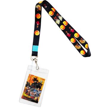 Dragon Ball Super: Goku & Dragon Balls Lanyard with ID Badge Holder