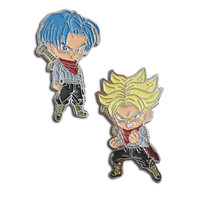 Dragon Ball Super: Future Trunks & Super Saiyan Future Trunks Pins Set of 2