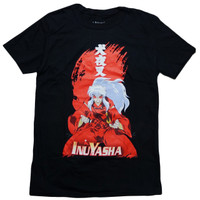 InuYasha: InuYasha Demon Form Men's Black T-Shirt