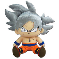 Dragon Ball Super: Ultra Instinct Goku Sitting Plush