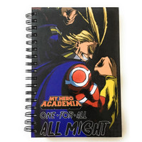 My Hero Academia: One For All All Might Hardcover Notebook