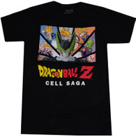 Dragon Ball Z: Cell Saga Group Men's T-Shirt