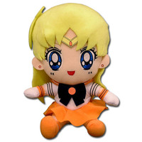 Sailor Moon: Sailor Venus Sitting Plush