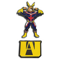 My Hero Academia: All Might & U.A. High School Logo Pins Set of 2