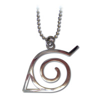Naruto: Leaf Village Symbol Konoha Necklace