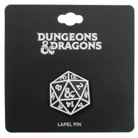 Dungeons & Dragons Dice Lapel Pin