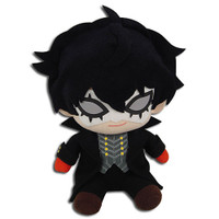 Persona 5: Joker Phantom Thief Sitting Pose Plush