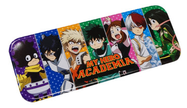 My Hero Academia: Main Characters Panel Tin Pencil Case