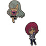 The Seven Deadly Sins: Elizabeth & Gowther Metal Pins Set of 2