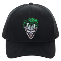 Batman The Joker Pre-Curved Bill Snapback Cap Hat