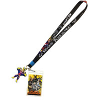 My Hero Academia Go Beyond Plus Ultra Lanyard with ID Badge Holder & All Might Charm