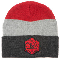Dungeons & Dragons Game Marled Stripe Beanie Hat