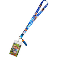 Dragon Ball Super Broly: Gogeta Lanyard with ID Badge Holder & Charm