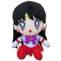 Sailor Moon: Sailor Mars Sitting Plush